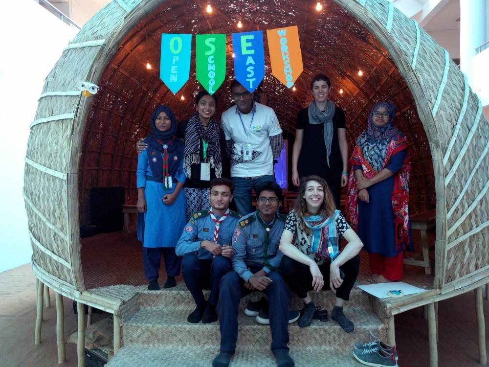 Launch of Open School East at the Dhaka Art Summit