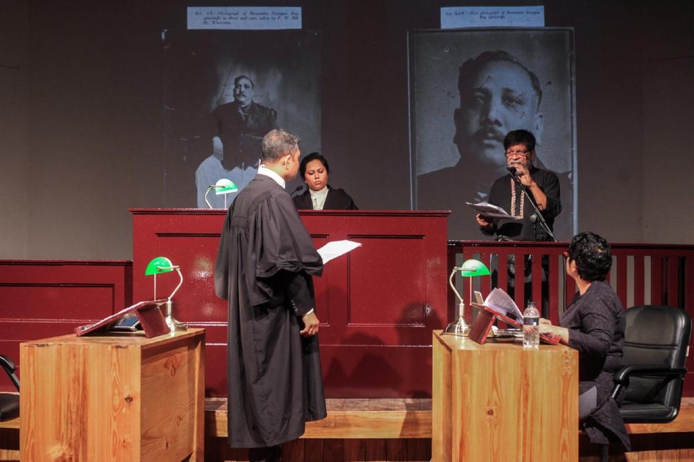 Zuleikha Chaudhari: Rehearsing the Witness: The Bhawal Court Case (2016-2018)