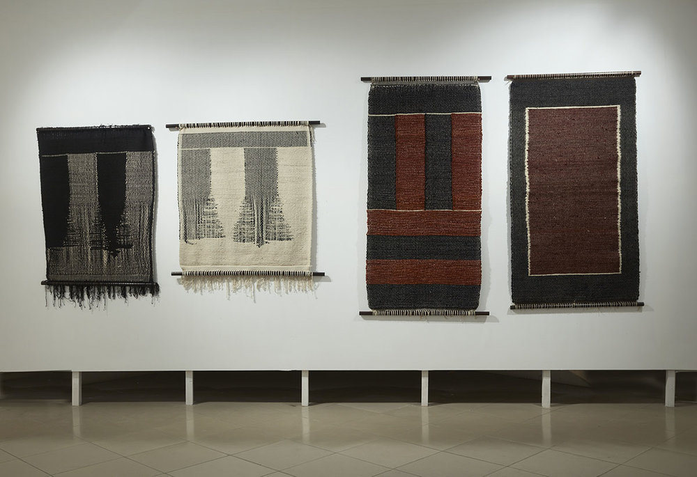 Installation view, works by Monika Correa. Courtesy of the artist and Jhaveri Contemporary, Mumbai. Photo courtesy of the Dhaka Art Summit and Samdani Art Foundation. Photo credit: Jenni Carter
