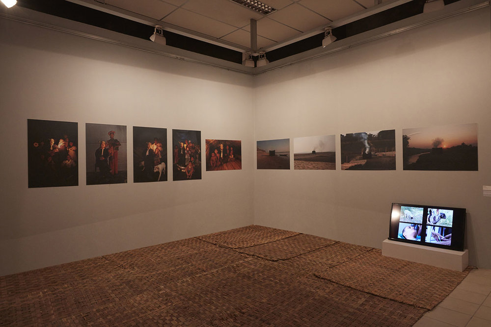 Nge Lay,  The Relevancy of Restricted Things , 2010. Courtesy of the artist and TS1, Yangon. Photo courtesy of the Dhaka Art Summit and Samdani Art Foundation. Photo credit: Jenni Carter