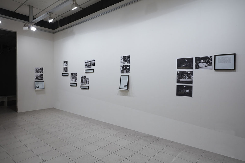 Maryam Jafri, Installation view, 2012, Photo courtesy of the Dhaka Art Summit and Samdani Art Foundation. Photo credit: Jenni Carter