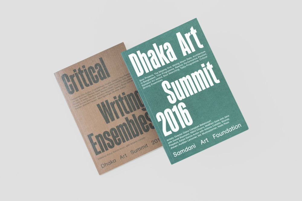 Critical Writing Ensembles and Dhaka Art Summit 2016