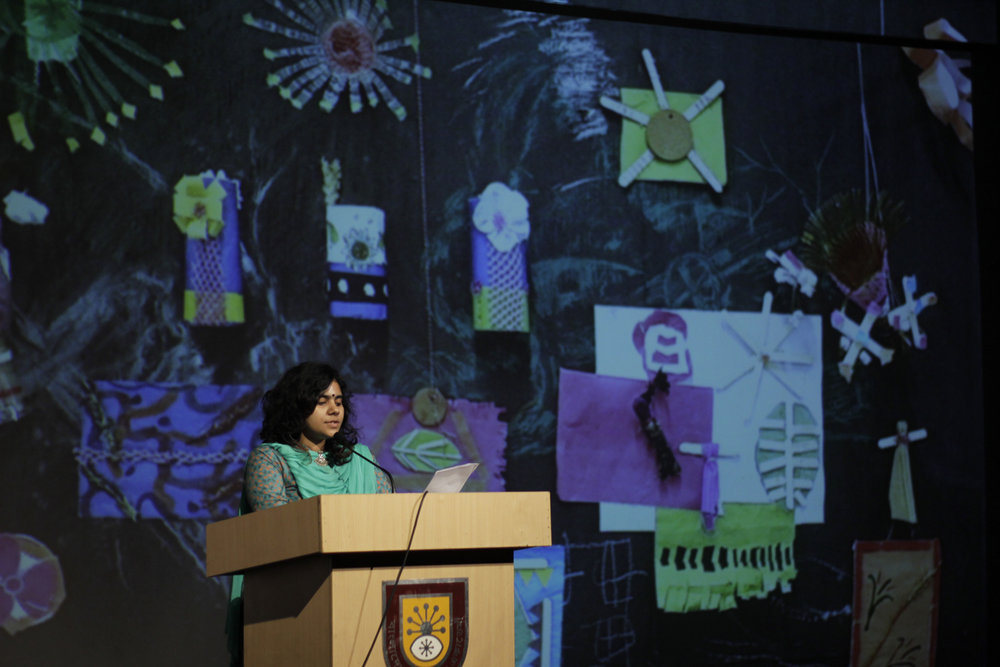 Presenting the Artist Led Initiatives. Photo credit: Noor Photoface
