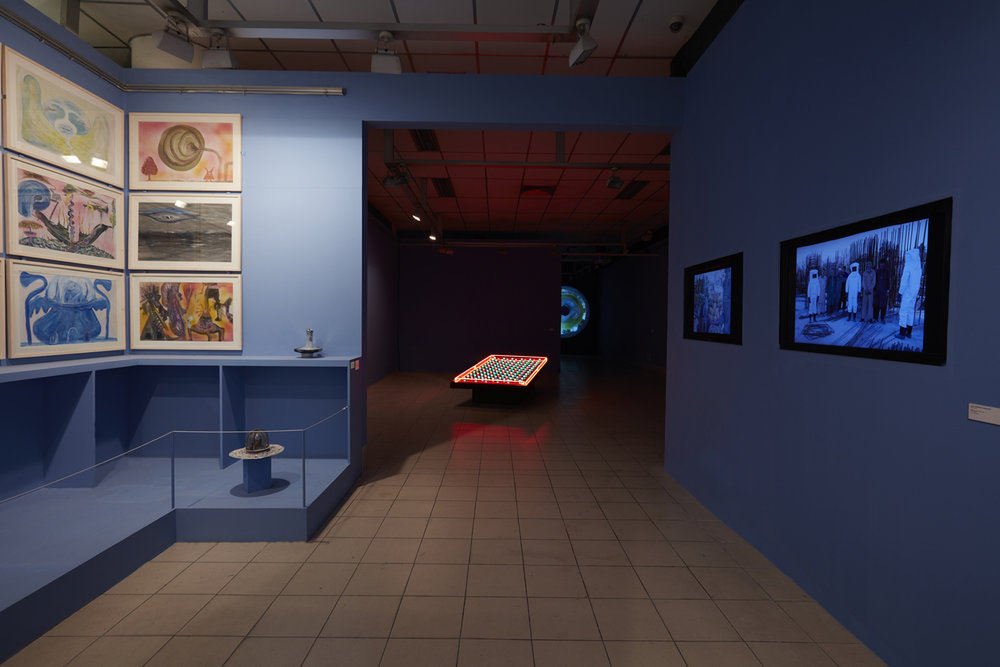 Installation view. Photo courtesy of the Dhaka Art Summit and Samdani Art Foundation. Photo credit: Jenni Carter (from exhibition: The Missing One)