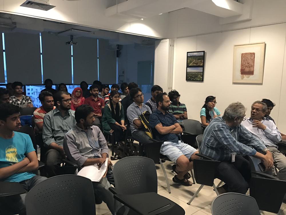Sean Anderson Talk, Samdani Seminars 2017. Courtesy of the Samdani Art Foundation