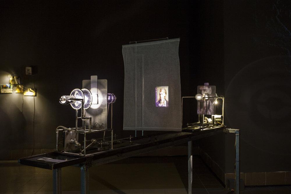 Susanta Mandal, Scrutiny (installation view), 2011
