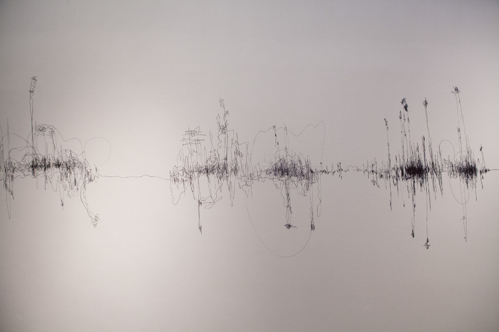 "Liquidity of Sound  (2016), marker pen wall drawing as part of an Open studio at Gyantapash Abdur Razzaq BidyaPeth organised by the Bengal Foundation.  Courtesy of the artist.           Normal     0                     false     false     false         EN-GB     X-NONE     HI                                                                                                                                                                                                                                                                                                                                                                                                                                                                                                                                                                                                                                                                                                                                                                                                                                                                                                                                                                                                                                                                                                                                                                                                                                                                                                                                                                                                                                                                                                                                                                                                                                                                                                     /* Style Definitions */  table.MsoNormalTable 	{mso-style-name:""Table Normal""; 	mso-tstyle-rowband-size:0; 	mso-tstyle-colband-size:0; 	mso-style-noshow:yes; 	mso-style-priority:99; 	mso-style-parent:""""; 	mso-padding-alt:0in 5.4pt 0in 5.4pt; 	mso-para-margin-top:0in; 	mso-para-margin-right:0in; 	mso-para-margin-bottom:10.0pt; 	mso-para-margin-left:0in; 	line-height:115%; 	mso-pagination:widow-orphan; 	font-size:11.0pt; 	mso-bidi-font-size:10.0pt; 	font-family:""Calibri"",sans-serif; 	mso-ascii-font-family:Calibri; 	mso-ascii-theme-font:minor-latin; 	mso-hansi-font-family:Calibri; 	mso-hansi-theme-font:minor-latin; 	mso-bidi-font-family:Mangal; 	mso-bidi-theme-font:minor-bidi; 	mso-fareast-language:EN-US; 	mso-bidi-language:HI;}"