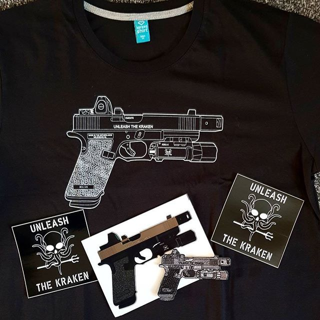 COMPETITION!!! Win This Swag from @mile_gear_holsters  Glock T Shirt (In Your Size) Stickers  Glock Patch  HOW TO WIN!! SIMPLE:  LIKE THIS POST! IMPORTANT FOLLOW  @mile_gear_holsters  We will Pick a winner at the End of October 2017 We will message the winner on Instagram so stay posted!!!! #ColdSpear#MileGear