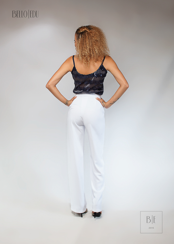 Swooned Camisole Blouse, Belle Wide Legs Pants