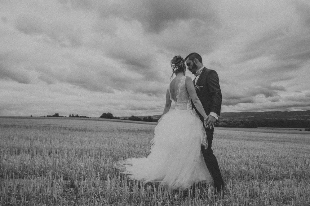 Photographe mariage loire la cour du domaine