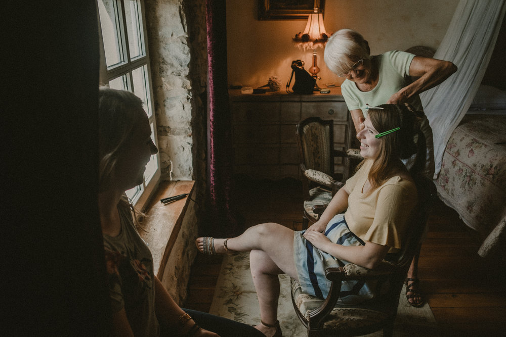 Photographe mariage isère la ferme de montin morestel