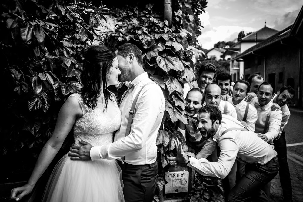 Photographe mariage savoie viviers du lac maison des pêcheurs