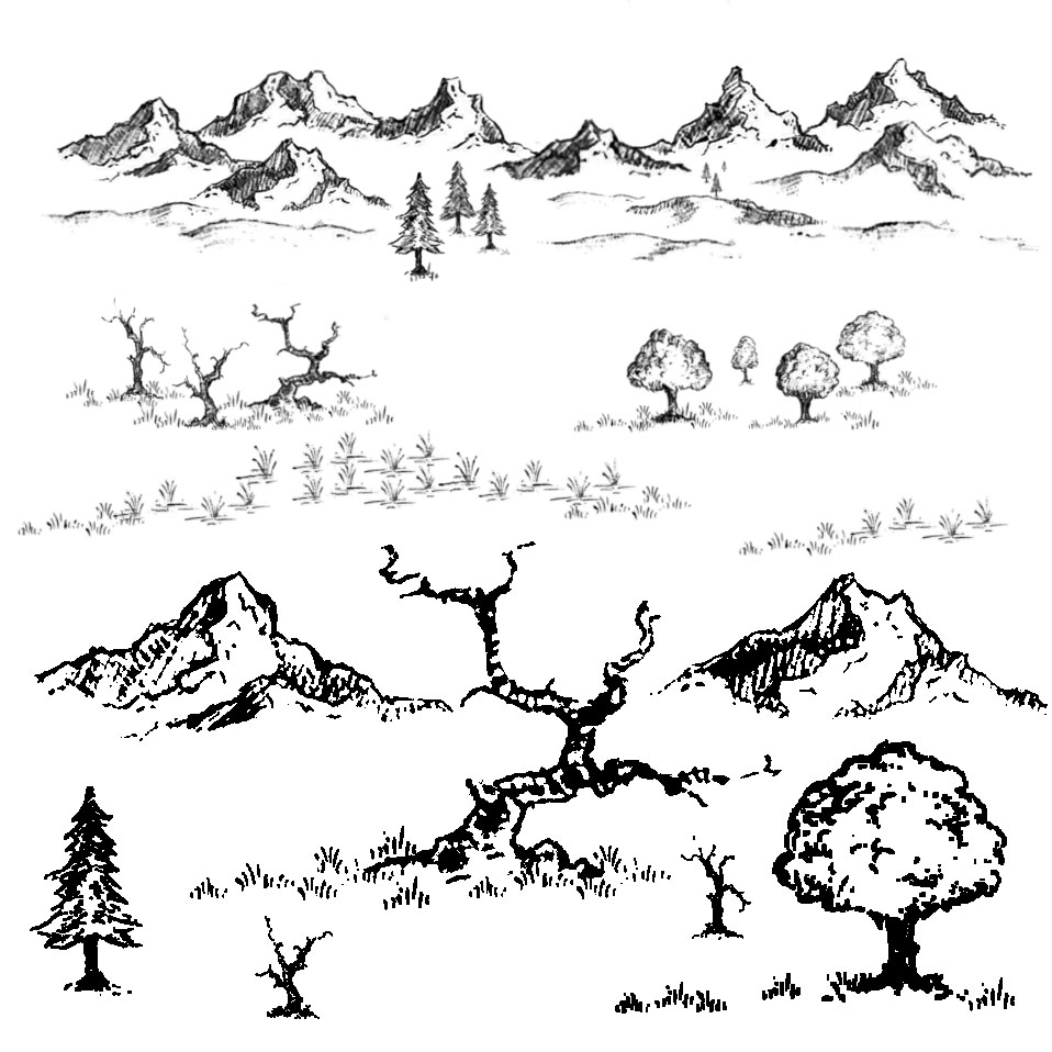 Fantasy Map Symbols