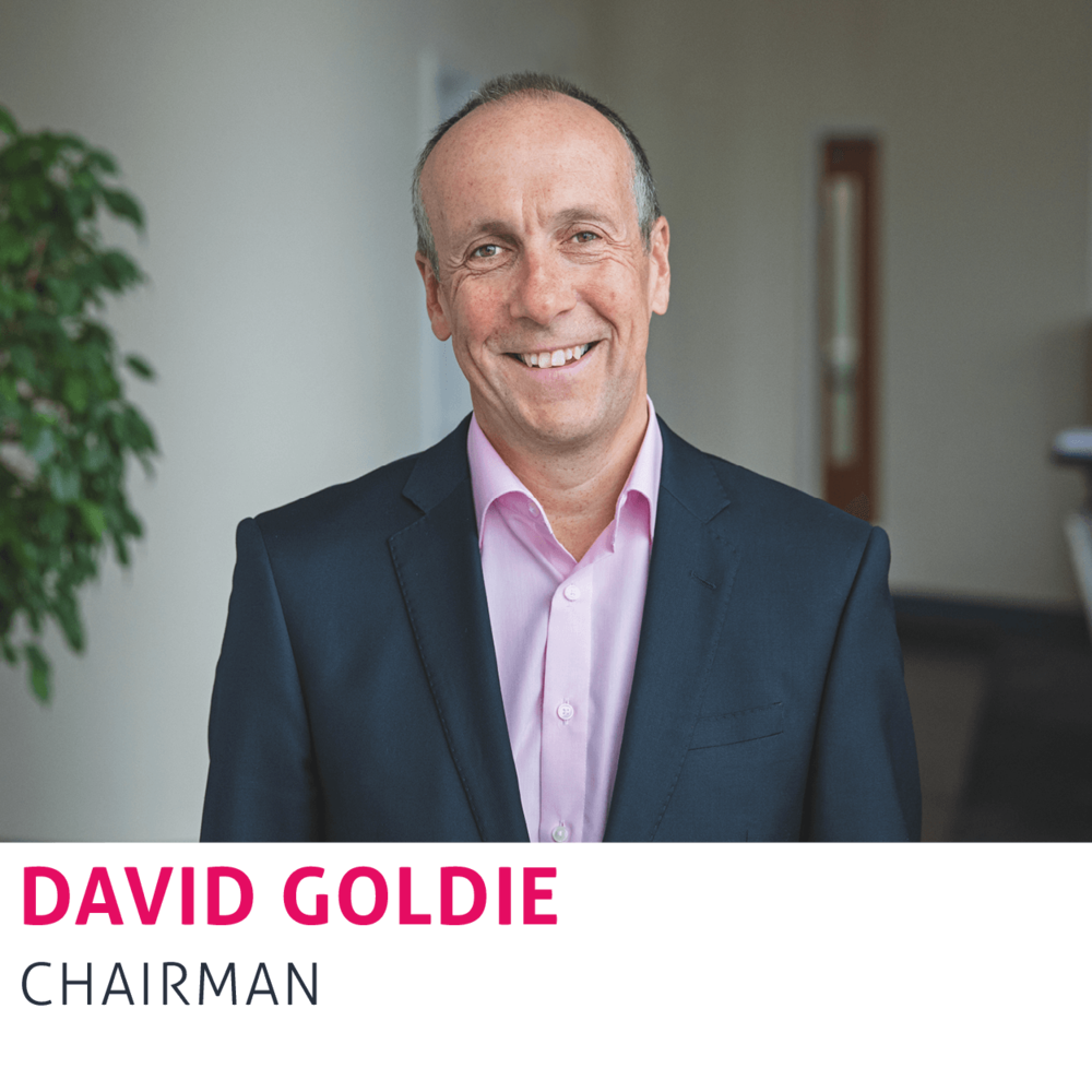 David Goldie, Chairman