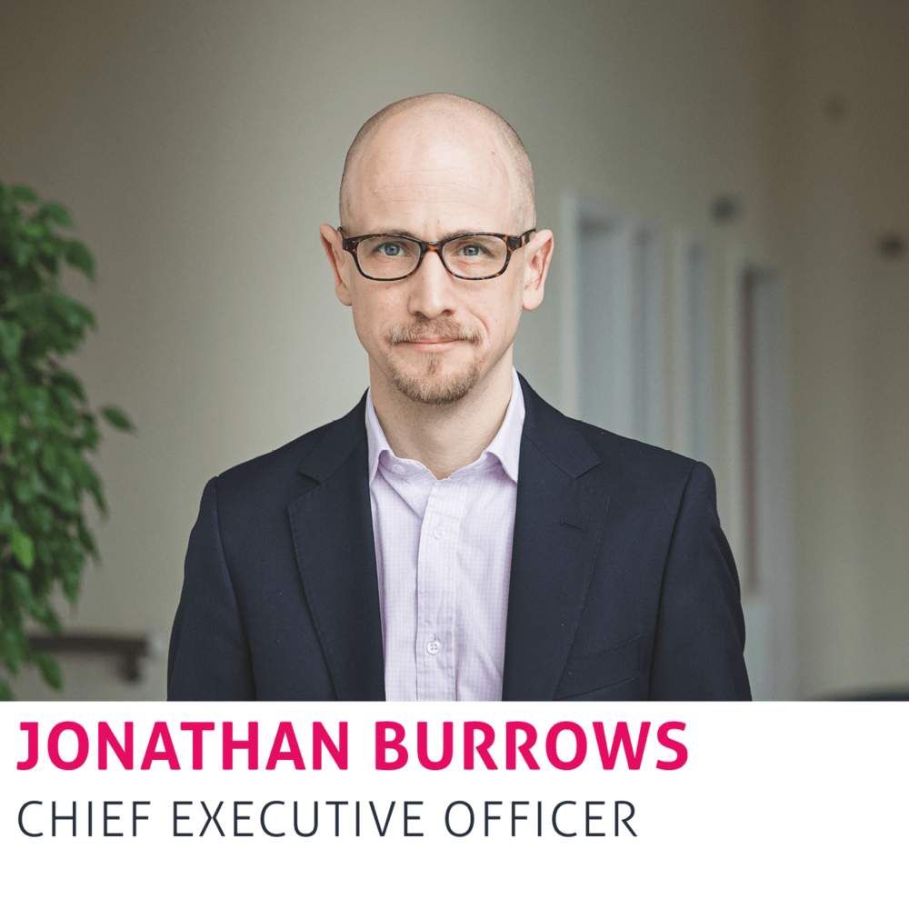 Jonathan Burrows, Chief Executive Officer