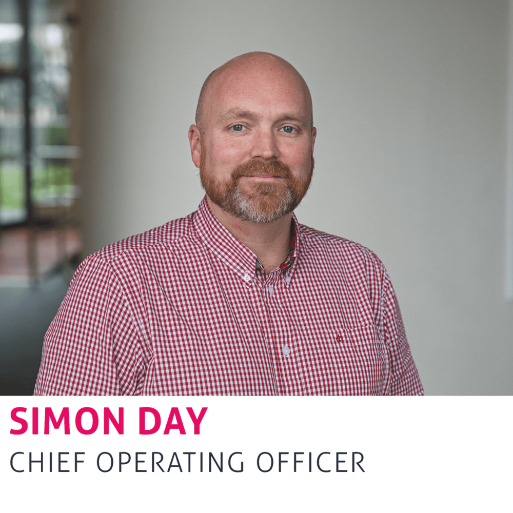 Simon Day, Chief Operating Officer