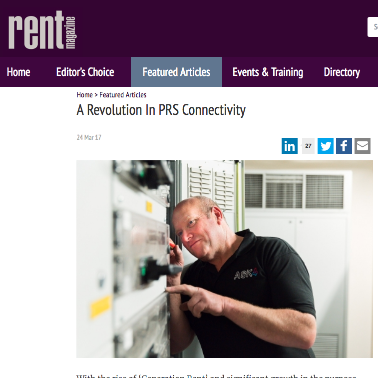 24 March 2017  Rent Magazine: A revolution in PRS connectivity   > go to story