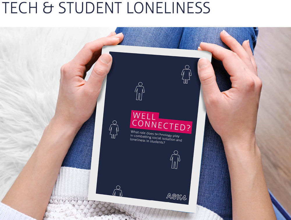 This paper explores how technology, that is smartphones and other Internet connected devices, services or apps, can impact positively or negatively on student loneliness.   > read the report