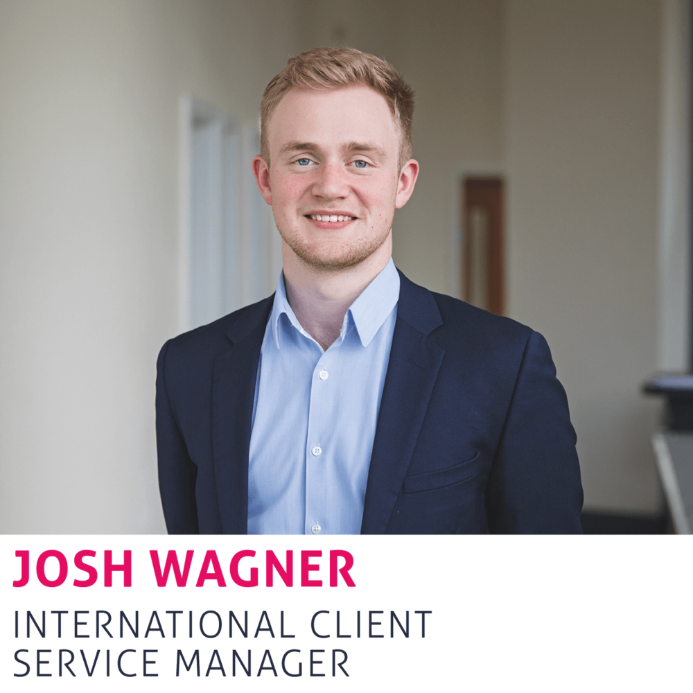 Josh Wagner, International Client Service Manager