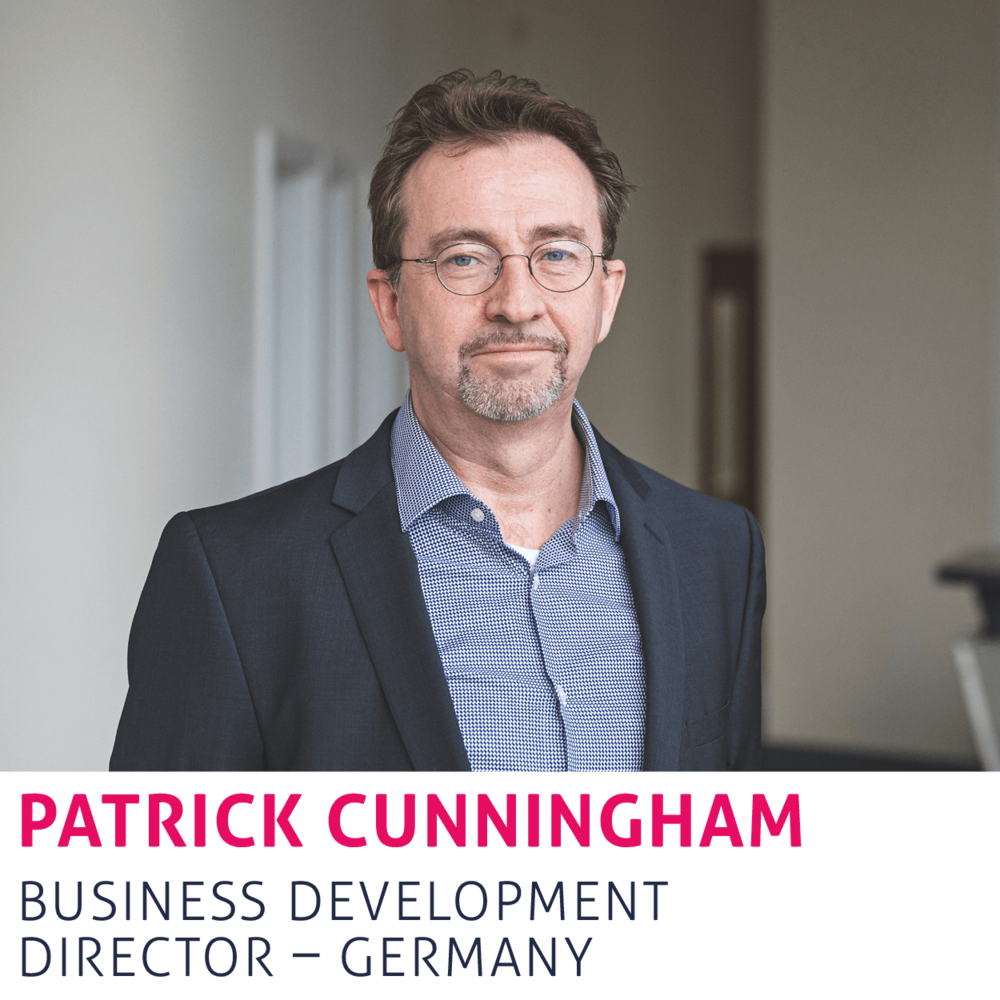 Patrick Cunningham, Business Development Director, Germany