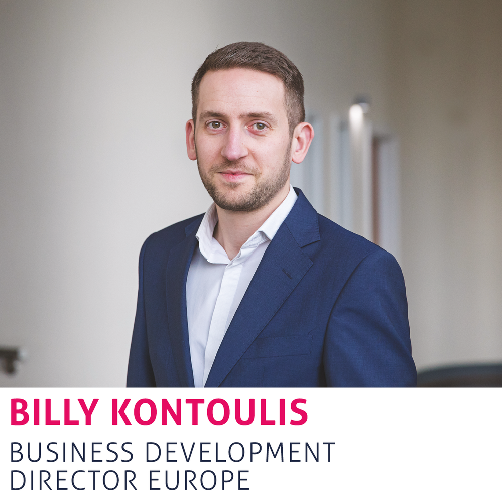 Billy Kontoulis - Business Development Director - Europe