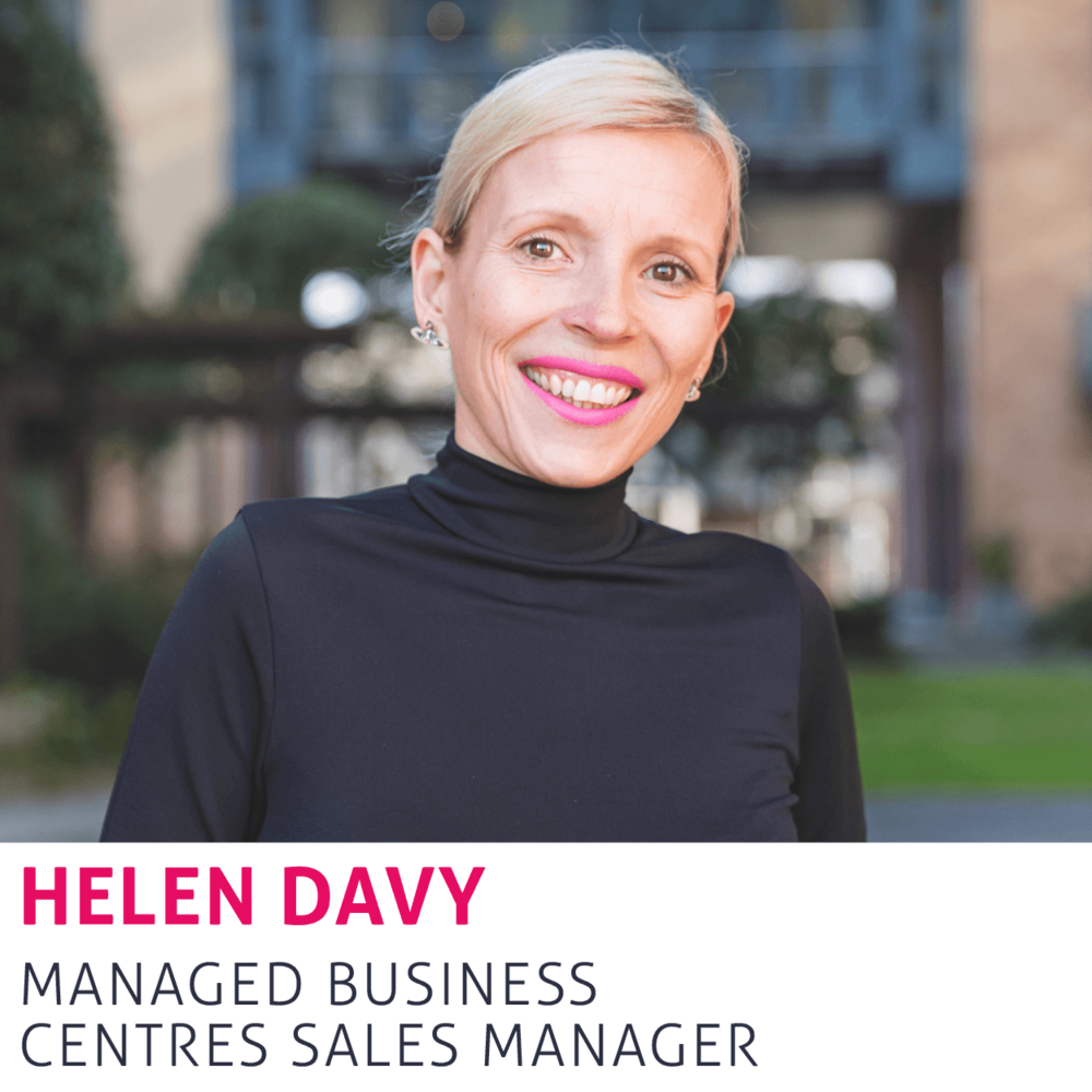 Helen Davy, Managed Business Centres Sales Manager
