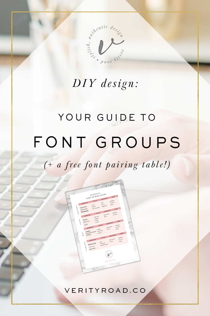 I cover four main font families, font pairings, beautiful fonts, script fonts, calligraphy, matching fonts, sans serif, serif, slab serif. Perfect for female entrepreneurs, bloggers and business owners to know how to use fonts for headers, body and accents in their branding, social media and blog.