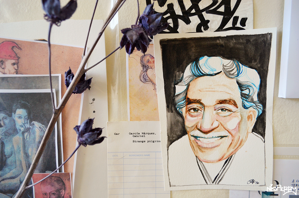 Portrait of Gabriel Garcia Marquez, 2016