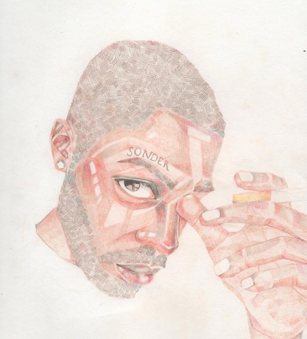Portrait of Brent Faiyaz.