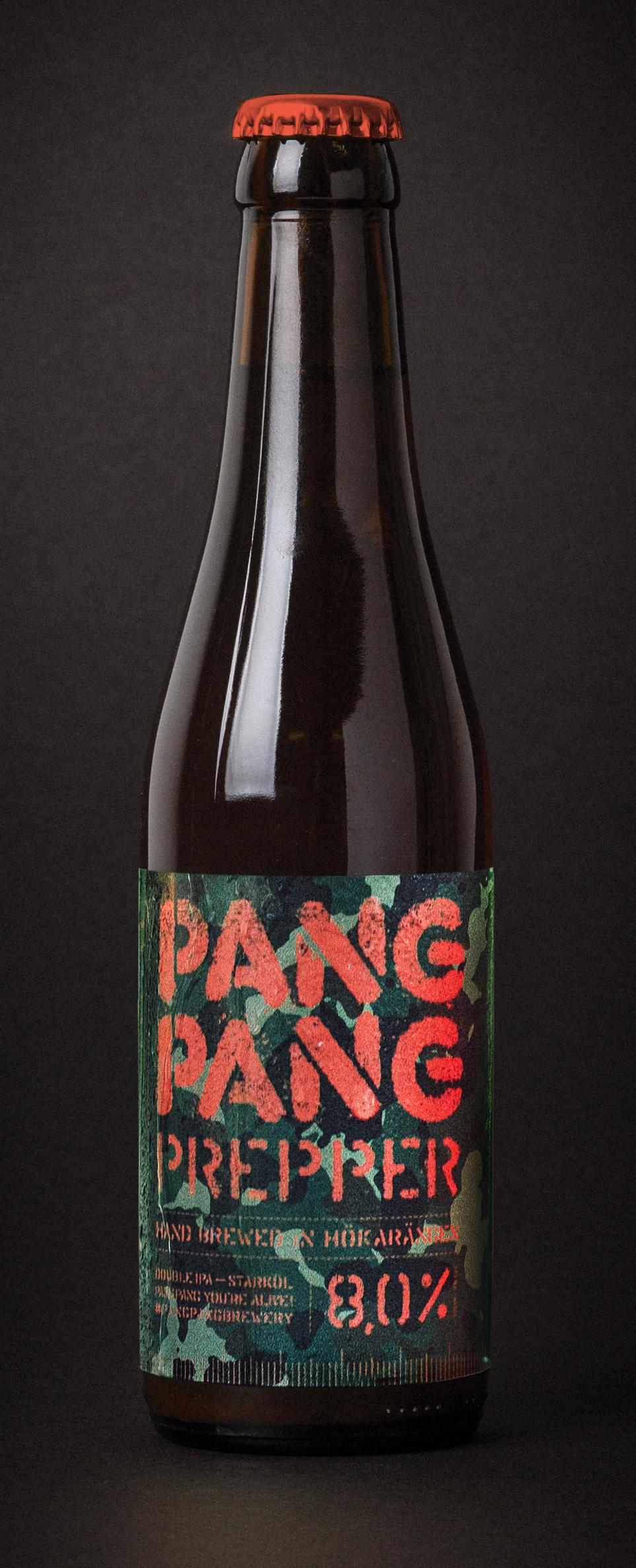 PangPang Prepper  Survival Double IPA. 8,0% · 33 centiliter