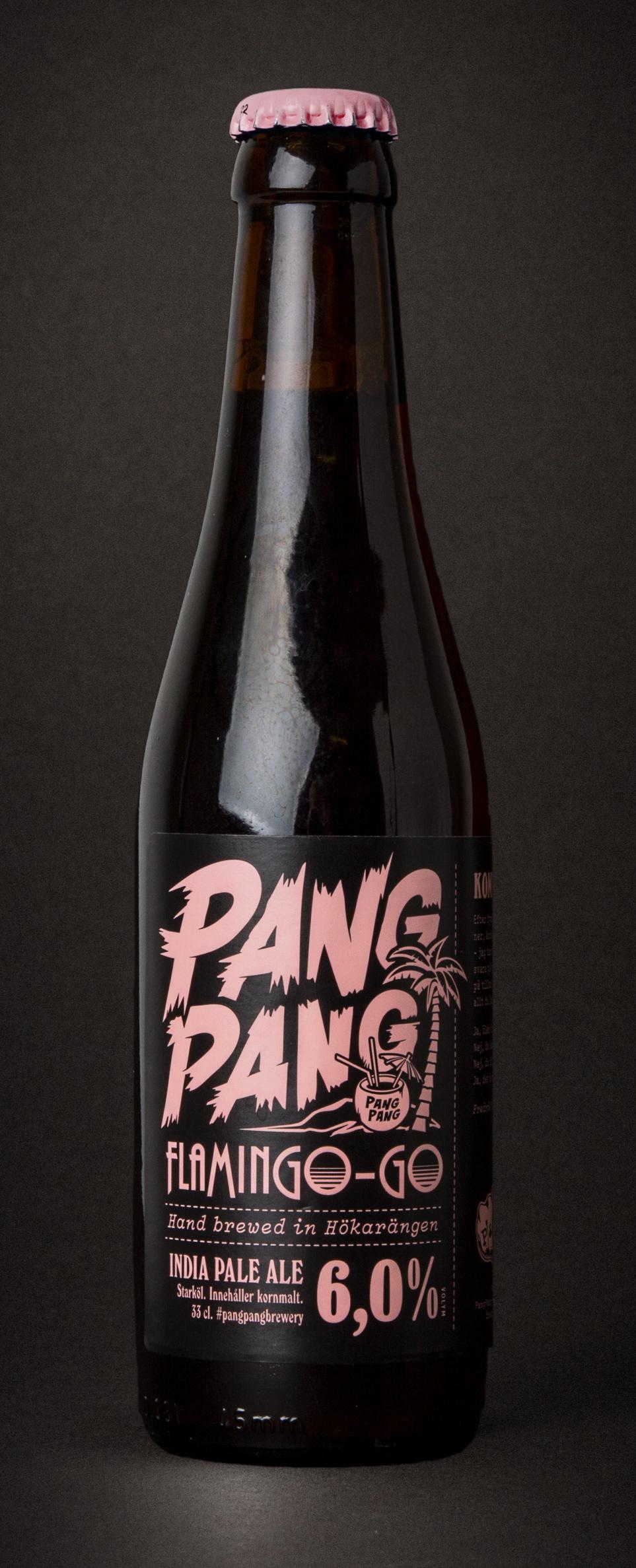 PangPang FlaminGo-Go  IPA. 6,0% · 33 centiliter