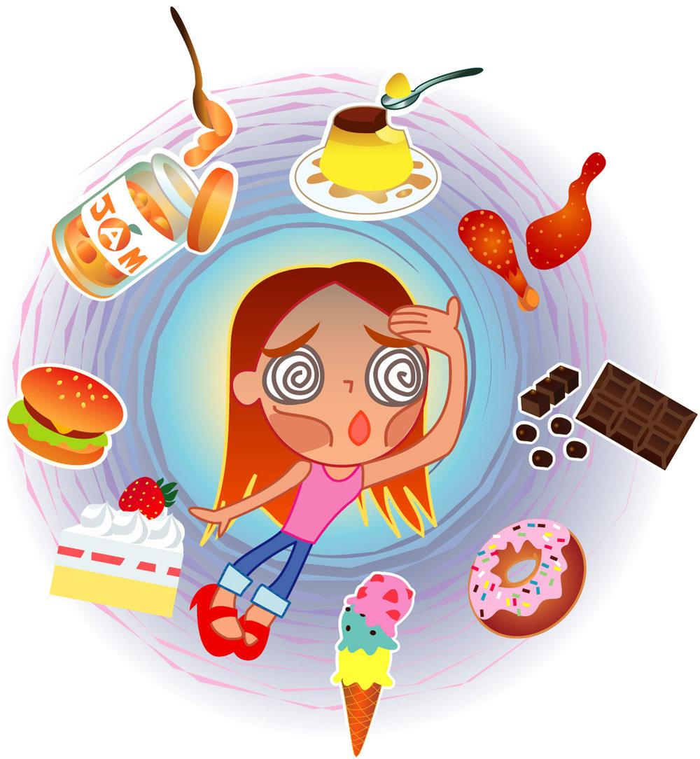 Bulimie - Ess-Brechsucht - ist gekennzeichnet durch Erbrechen oder andere Massnahmen, mit denen die Nahrungsaufnahme rückgängig gemacht wird. Sehr oft kommt es auch zu Essanfällen, in denen unkontrolliert viel Nahrung aufgenommen wird. Danach folgt Kompensation durch Erbrechen, Abführmittel, exzesiven Sport etc. Auch Bulimie kann ernsthafte körperliche Begleiterscheinungen haben. So sehr Menschen mit Bulimie darunter leiden, so hilfreich ist es, wenn sie sich darüber bewusst werden, was ihnen die Bulimie gibt, und was sie aufgeben würden, wenn sie dieses Verhalten nicht mehr hätten.