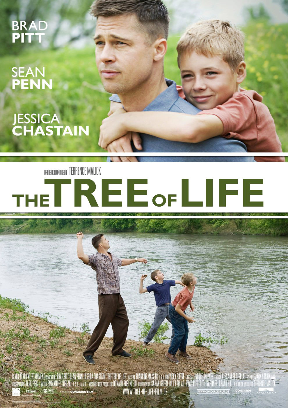 Terrence Malick's film  The Tree of Life  (River Road Ent.)
