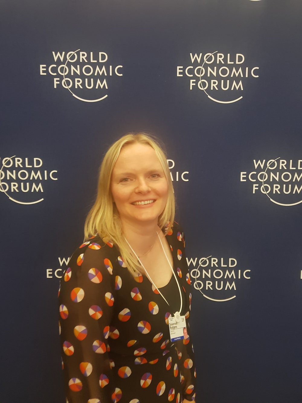 Susie attends the World Economic Forum's Annual Meeting 2019 in Davos, speaking and moderating on three panels for the Forum around disability, inclusion, education and design