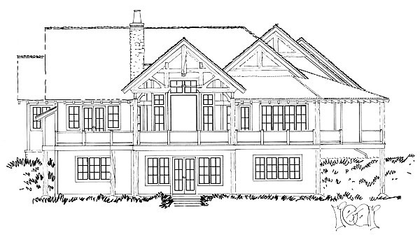 This project is still about a year out but still exciting to be talking about 2020 projects already! Love the rear elevation of this house! @trademark_custom_builders #customhomebuilder #homebuilder #builder #buildersofig #buildersofinsta #newhome #house #timberframe #schedulefillingup #contractor #generalcontractor #blueprints #houseprints #architecture #residentialarchitecture