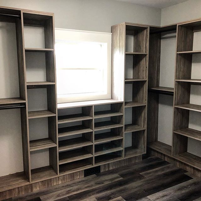 The components for this closet were built at our shop @cross_and_lincoln. Our install went great and it turned out really sharp. The homeowners will be nice and organized with this set up!!! @trademark_custom_builders #customhomebuilder #homebuilder #builder #buildersofinsta #customcabinets #customcloset #closet #closetorganization #closetdesign #closetgoals #cabinetshop @lagunatools #keepcraftalive