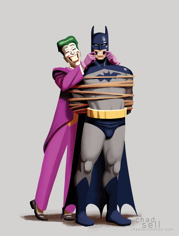 Batman and Joker copy