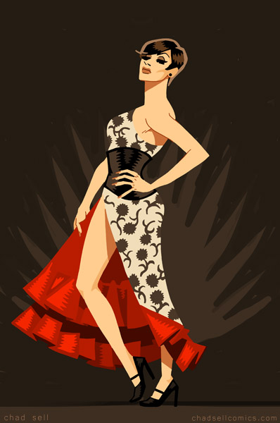 Raven - flamenco