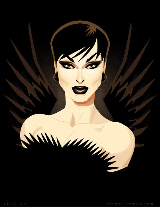Raven - wings