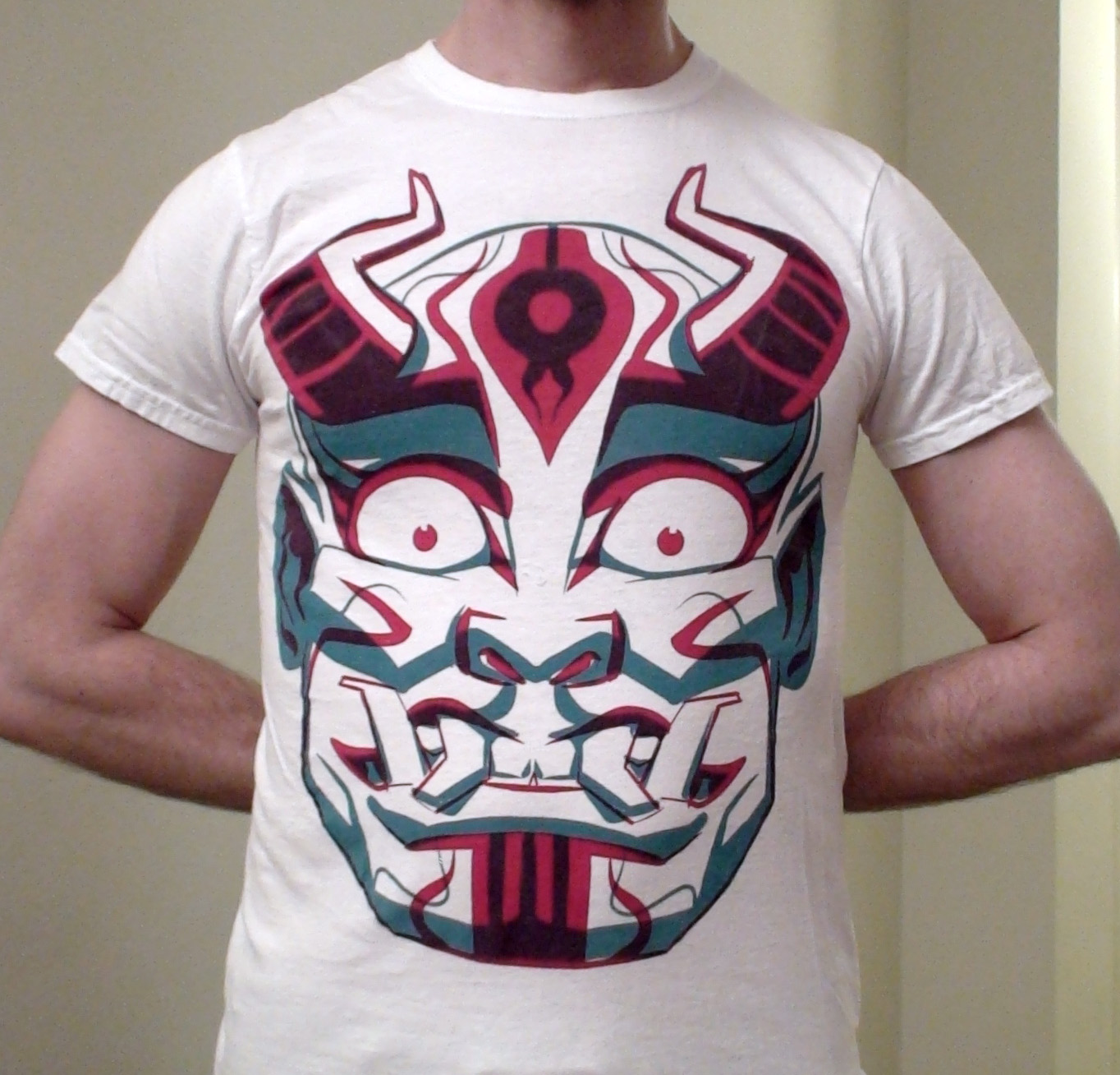 Design t shirts to sell - I Had The Best Luck With This Crazy Design Based On A Japanese Demon Or Oni I Have A Few Shirts Available In Small Medium And Large Sizes