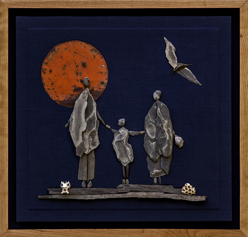 Under the Red Moon - SOLD
