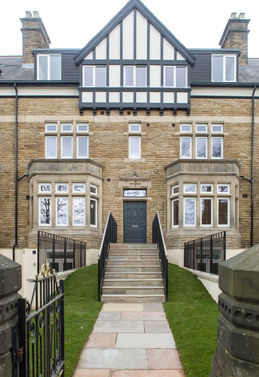 06   External Images, Entrance To Apartment 5, The Balmoral, Harrogate