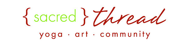 {SACRED} THREAD YOGA 10% discount on 5 or 10 class card purchases.