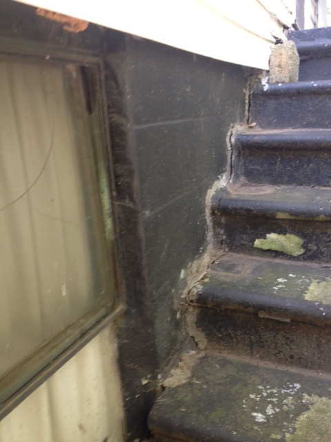 Cecile Avenue (2015) Crumbling Stair Repair