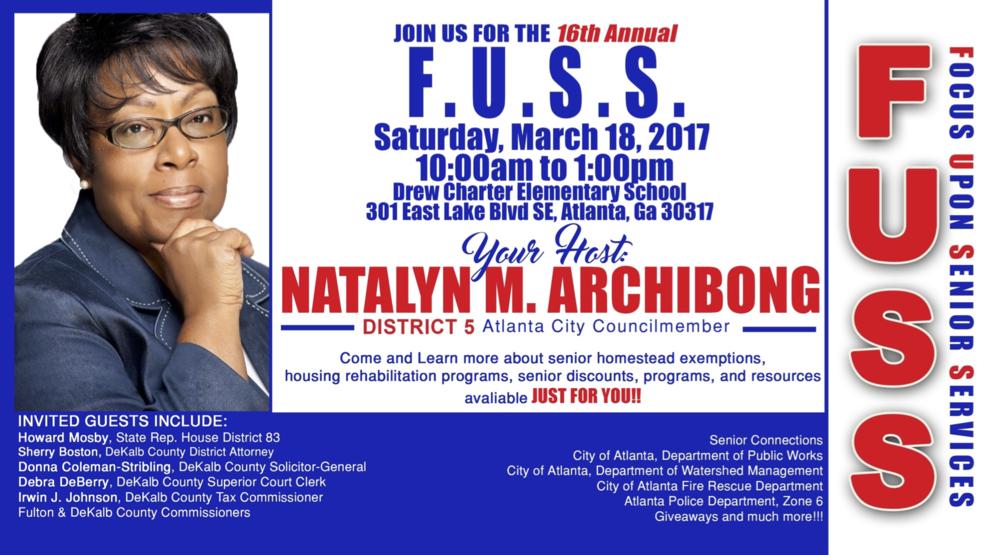 2017 FUSS Seminar March 18 2017