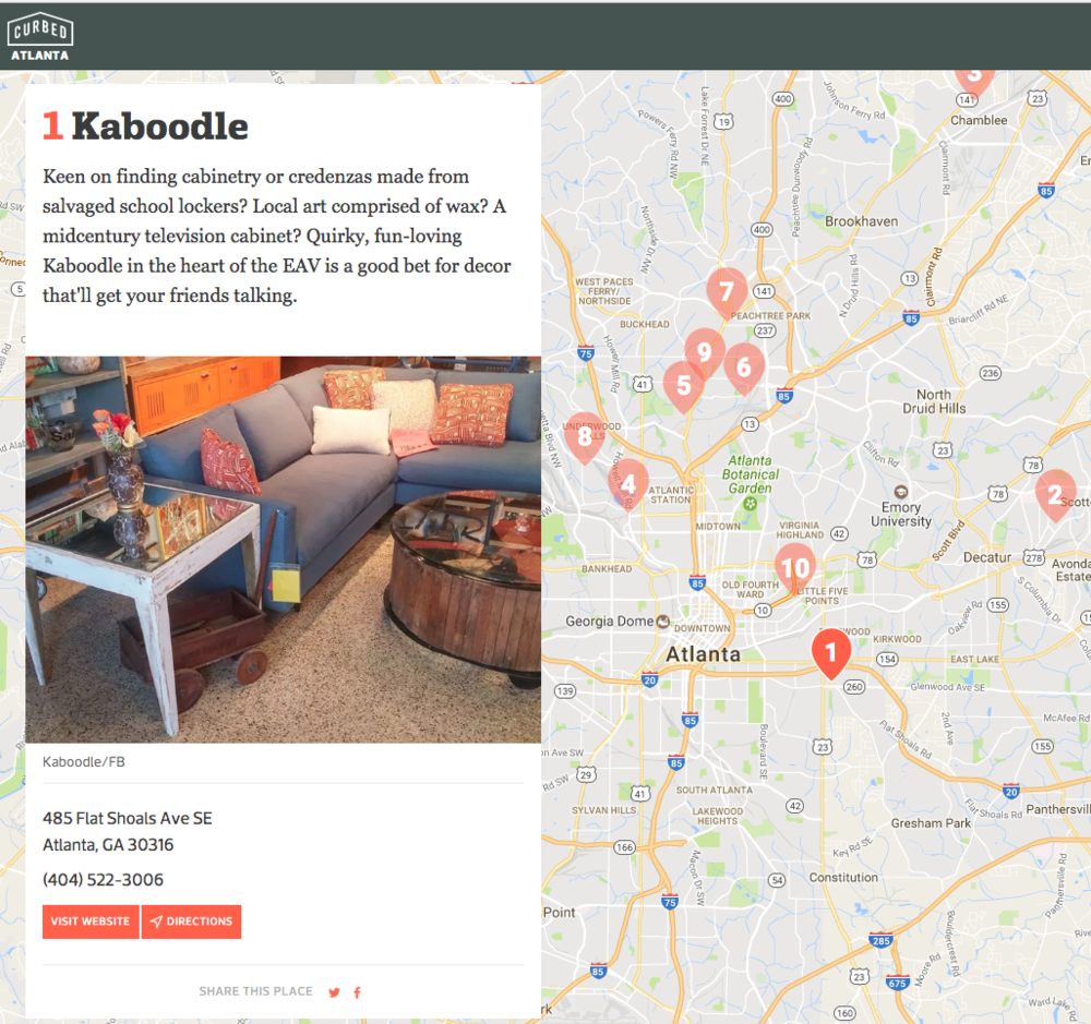 East Atlanta Curbed Kaboodle Design Furniture Stores