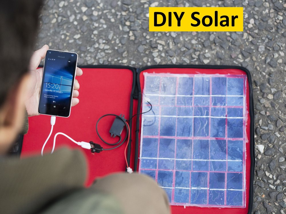 Build your own solar charger -