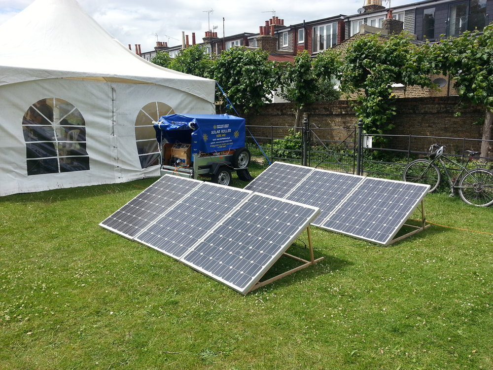 Mobile solar power -