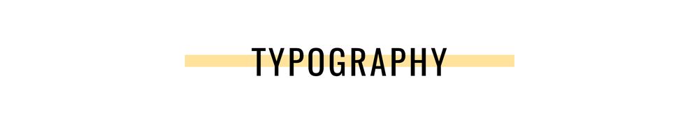 Basic Design Principles Typography