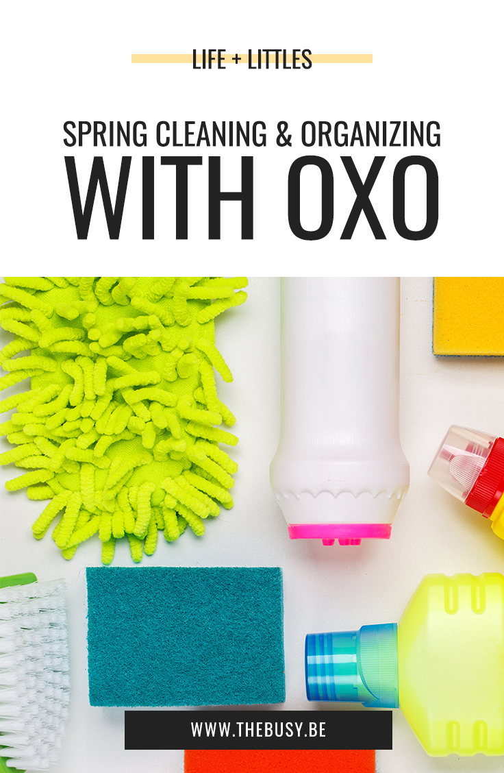 Spring Cleaning And Organizing with OXO